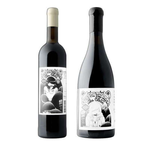 "Vinho Tinto Pôpa Art Projects ""Milf"" e ""Lolita"" 2013"