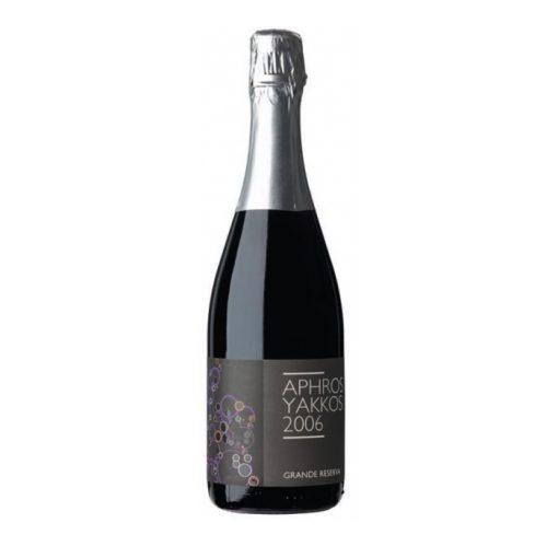 Vinho espumante Aphros Yakkos Vinho Grande-Reserva 2006